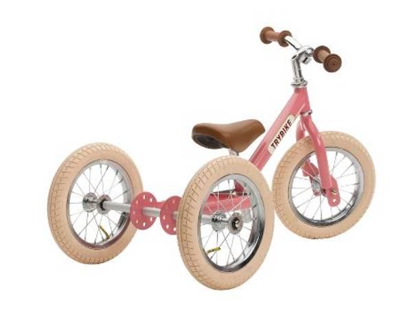 Bilde av Trybike 3 hjul Rosa