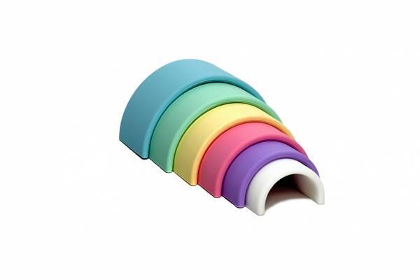Bilde av Regnbue - pastell farge